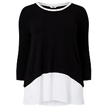 Buy Studio 8 Kassandra Top, Black/White Online at johnlewis.com