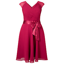 Buy Studio 8 Anya Dress, Raspberry Online at johnlewis.com
