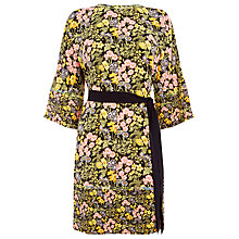 Buy Warehouse Garden Posey Shift Dress, Black/Multi Online at johnlewis.com