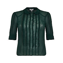 Buy Ghost Libby Blouse, Portia Green Online at johnlewis.com