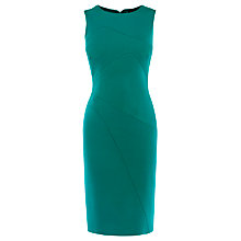 Buy Karen Millen Colourful Scuba Dress, Teal Online at johnlewis.com