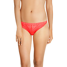 Buy Bonds Racy Lacies Skimpy Bikini Briefs, Chinoiserie Red Online at johnlewis.com