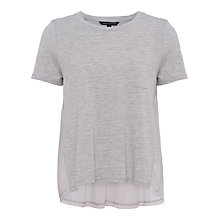 Buy French Connection Hopper Modal T-Shirt, Light Grey Mel Online at johnlewis.com