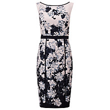 Buy Phase Eight Dannan Floral Dress, Black/Cameo Online at johnlewis.com