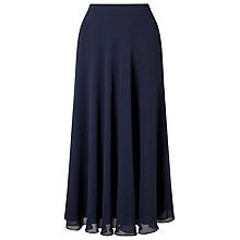Buy Jacques Vert Chiffon Circle Skirt, Navy Online at johnlewis.com