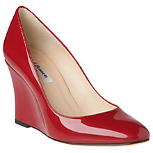Buy L.K. Bennett Esmeralda Wedge Heeled Court Shoes Online at johnlewis.com