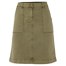 Buy White Stuff Bessie Chino Skirt, Khaki Online at johnlewis.com