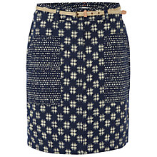 Buy White Stuff Forever Ikat Skirt, Waterfall Online at johnlewis.com