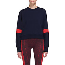 Buy Whistles Panelled Jumper, Navy/Red Online at johnlewis.com