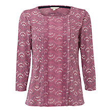 Buy White Stuff Raindrop Jersey T-Shirt, Momo Pink Online at johnlewis.com