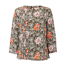 Buy White Stuff WaterlillyTop, Haw Green Online at johnlewis.com