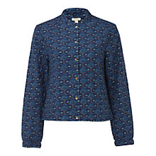 Buy White Stuff Elora Quilted Jacket, Ink Online at johnlewis.com