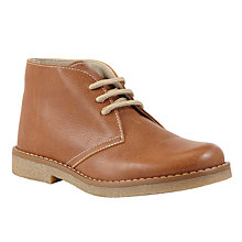 Buy John Lewis Heirloom Collection Boys' Desert Boots, Tan Online at johnlewis.com