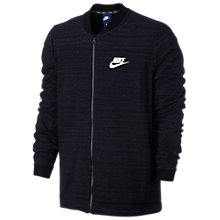 Buy Nike Sportswear Advance 15 Men's Training Jacket, Black Online at johnlewis.com