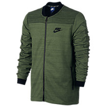 Buy Nike Sportswear Advance 15 Men's Training Jacket, Green Online at johnlewis.com