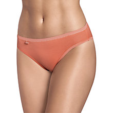 Buy Sloggi EverNew Tai Briefs, Coral Online at johnlewis.com