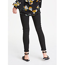Buy AND/OR Abbot Kinney Skinny Jeans, Black Online at johnlewis.com