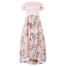 Buy Coast Yaya Bardot Maxi Dress, Blush Online at johnlewis.com