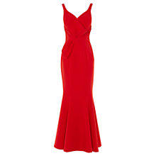 Buy Coast Thurston Structured Maxi Dress, Red Online at johnlewis.com