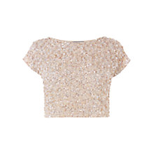 Buy Coast Felicity Embellished Top Online at johnlewis.com