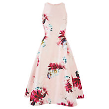 Buy Coast Shorter Length Minerva Floral Dress, Multi Online at johnlewis.com