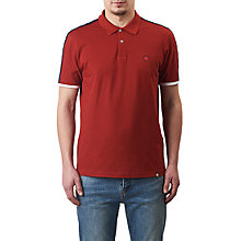 Buy Pretty Green Tilby Moon Polo Shirt, Red Online at johnlewis.com