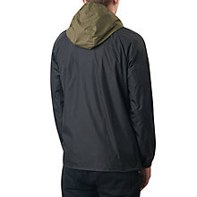Buy Pretty Green Reedbank Slim Fit Hooded Jacket, Khaki/Black Online at johnlewis.com
