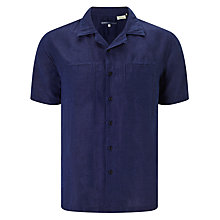 Buy Levi's Made & Crafted Cotton Riviera Shirt, Indigo Online at johnlewis.com