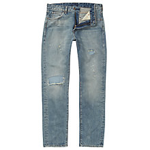 Buy Levi's Made & Crafted Tack Slim Jeans, Light Blue 0267 Online at johnlewis.com