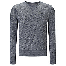 Buy Levi's Made & Crafted Crew Neck Sweatshirt, Grey Online at johnlewis.com