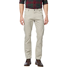 Buy Dockers Alpha Stretch Khaki Slim Tapered Chinos, Safari Beige Online at johnlewis.com