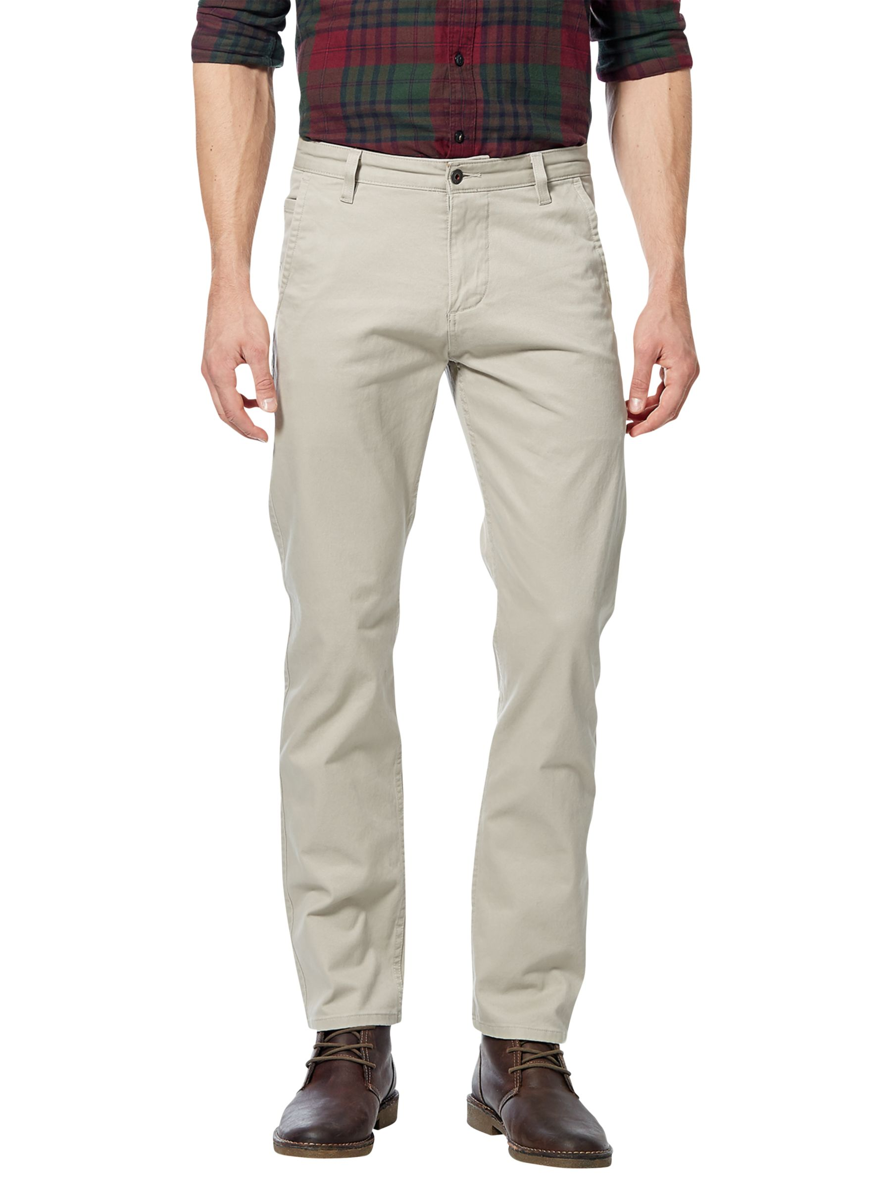 Dockers Dockers Alpha Stretch Khaki Slim Tapered Chinos, Safari Beige