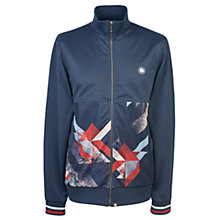 Buy Pretty Green Kirby Track Top, Navy Online at johnlewis.com
