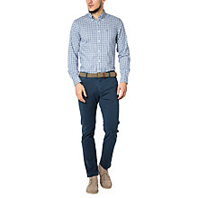 Buy Dockers New Bic Mist Wash Stretch Twill Slim Tapered Chinos, Moonlit Ocean Online at johnlewis.com
