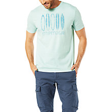 Buy Dockers Graphic Capitola Surfboard Print T-Shirt, Starlight Blue Online at johnlewis.com