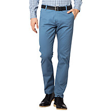 Buy Dockers Bic Alpha Original Slim Tapered Stretch Twill Chinos, Copen Blue Online at johnlewis.com