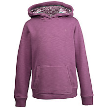 Buy Fat Face Girls' Graphic Butterfly Print Hoodie, Lilac Online at johnlewis.com