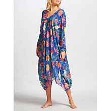 Buy Riko by Coco Riko Cockatoo Maxi Kaftan, Blue Online at johnlewis.com