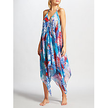 Buy Riko by Coco Riko Jungle Handkerchief Dress, Blue Online at johnlewis.com