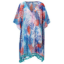 Buy Riko by Coco Riko Jungle Short Kaftan, Blue Online at johnlewis.com