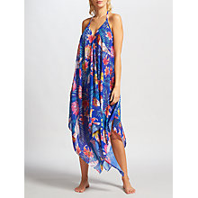 Buy Riko by Coco Riko Cockatoo Handkerchief Dress, Blue Online at johnlewis.com