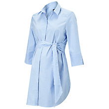 Buy Isabella Oliver Dora Striped Maternity Shirt, Blue/White Online at johnlewis.com