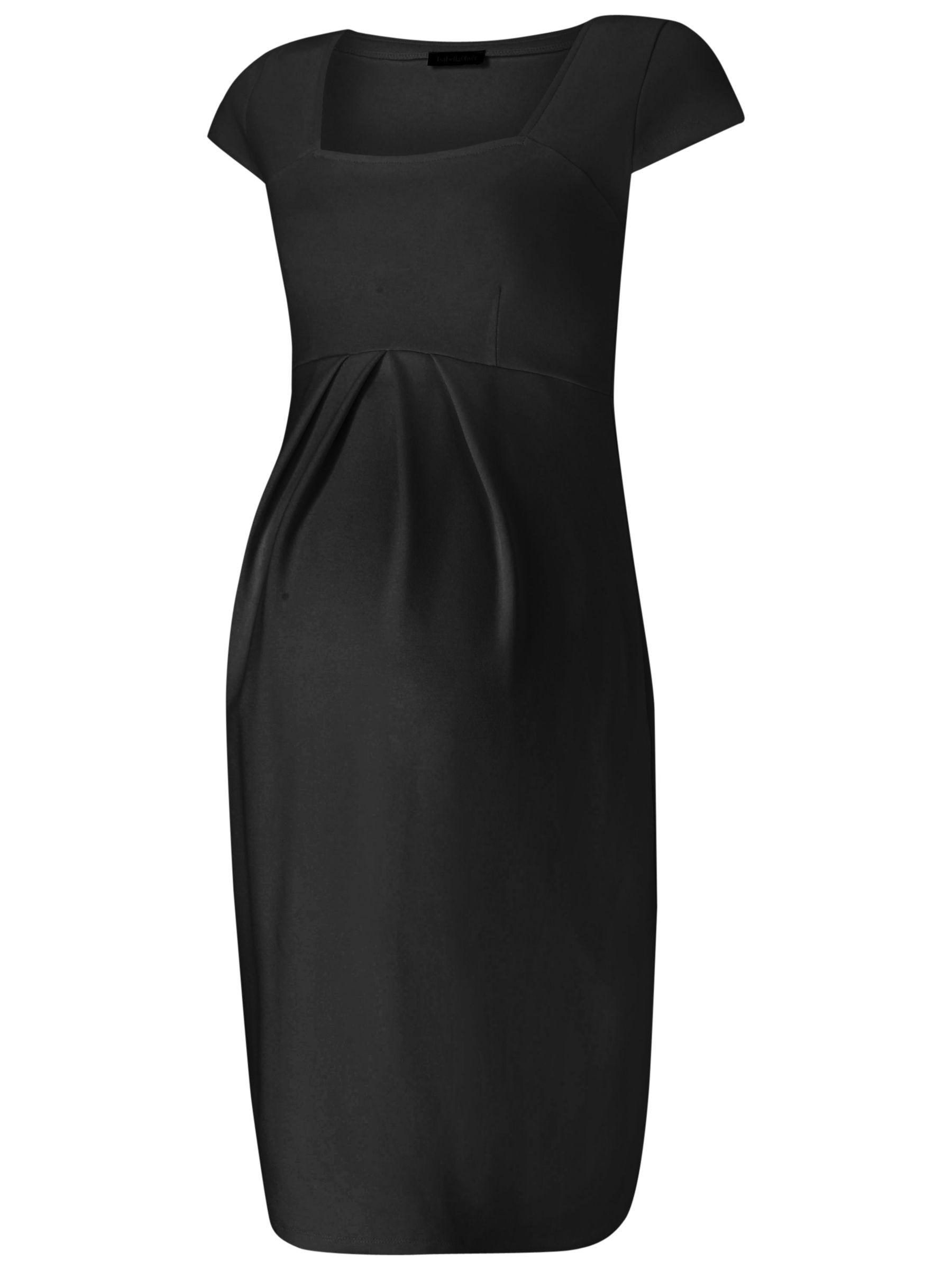 Isabella Oliver Isabella Oliver Farah Shift Maternity Dress, Caviar Black