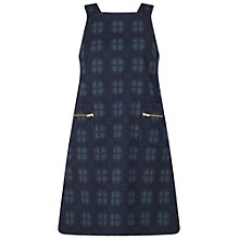 Buy Miss Selfridge Check Pinny Dress, Multi Online at johnlewis.com
