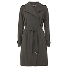 Buy Mint Velvet Hooded Zip Trench Coat Online at johnlewis.com