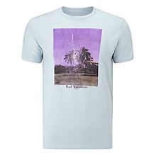 Buy Edwin 'Bad Vacation' Graphic T-Shirt, Ciel Clair Online at johnlewis.com