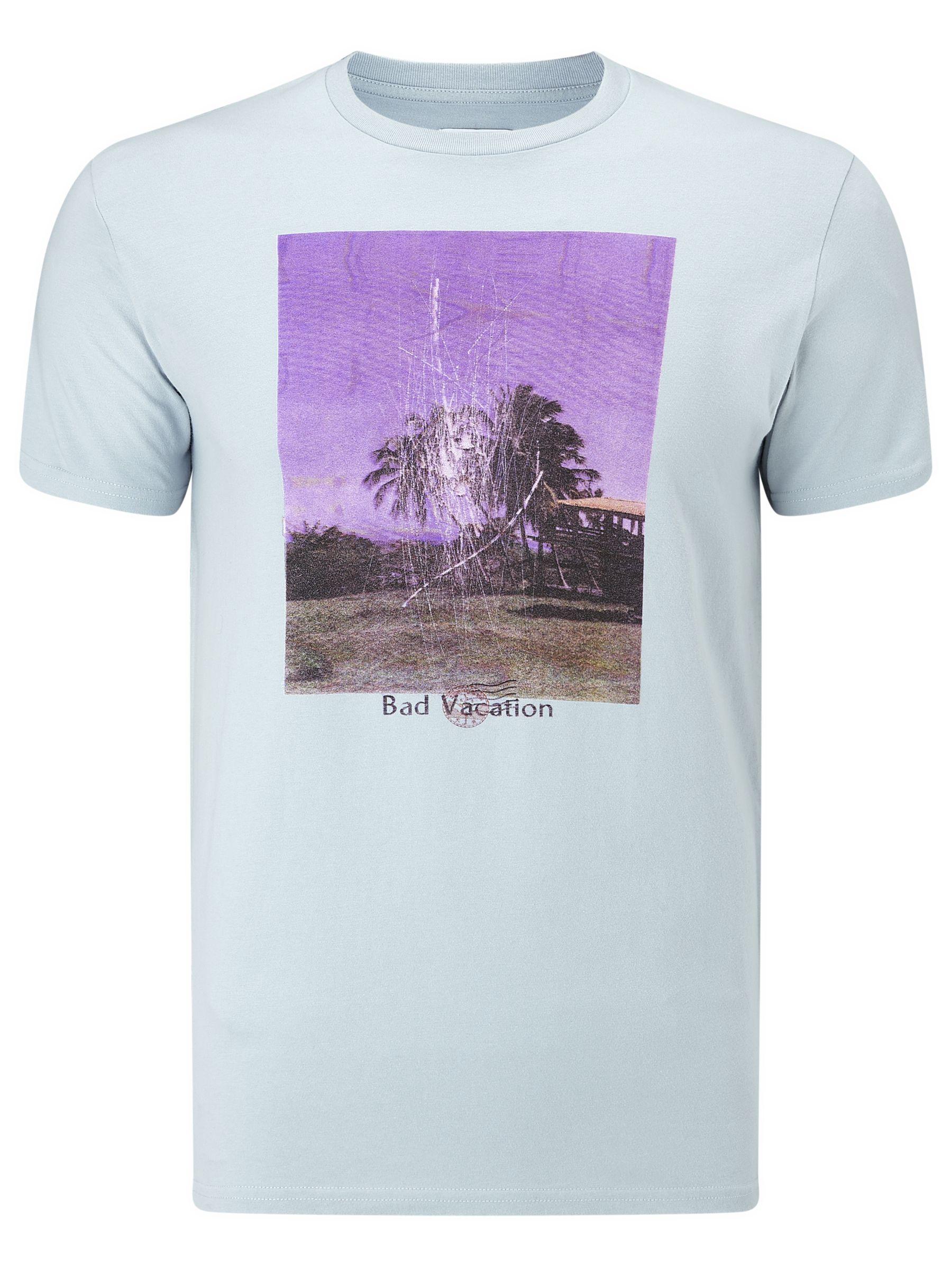 Edwin Edwin 'Bad Vacation' Graphic T-Shirt, Ciel Clair