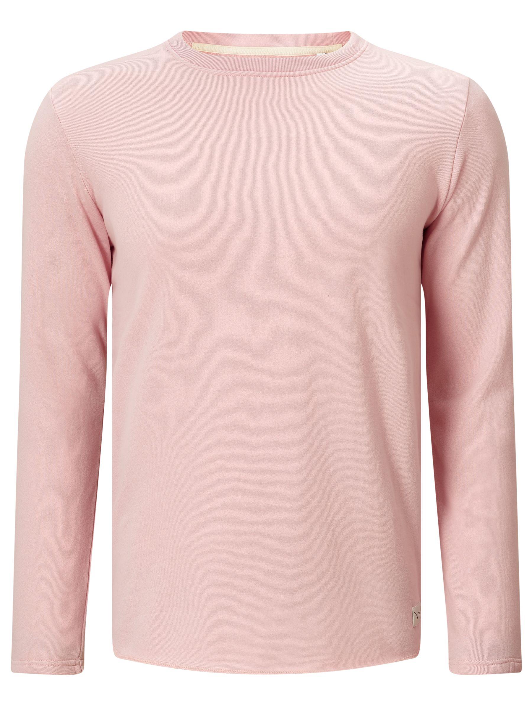 Edwin Edwin Terry Long Sleeve T-Shirt, Pink