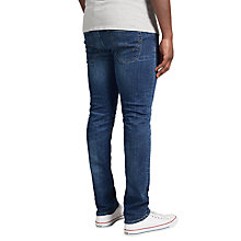 Buy Edwin ED-80 Slim Tapered Jeans, Night Blue Denim Online at johnlewis.com