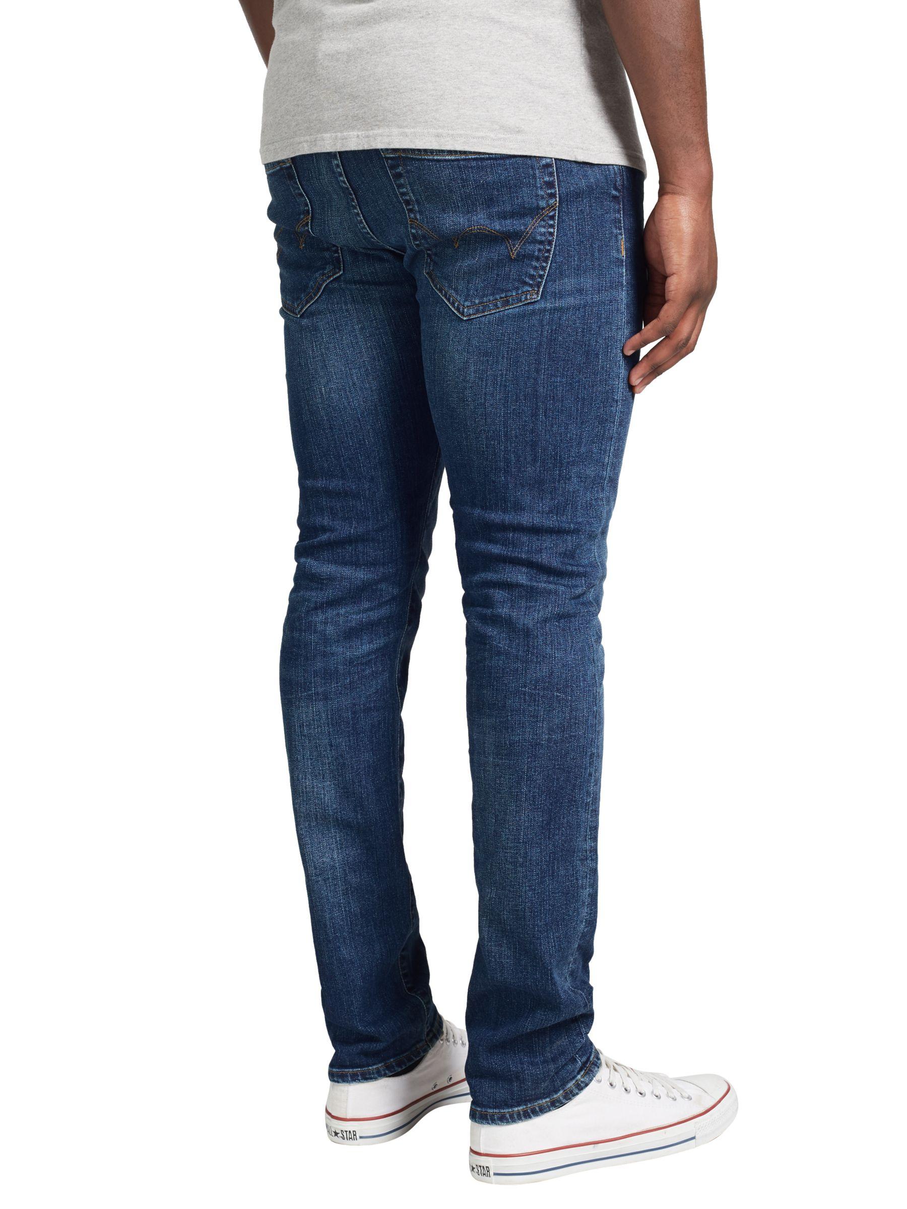 Edwin Edwin ED-80 Slim Tapered Jeans, Night Blue Denim